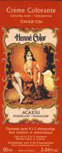 NJD Cosmetics Natural Colour Cream - Henna liquid Acajou 90ml