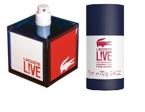 ZESTAW LACOSTE Live Pour Homme EDT 60ml + SZTYFT 75ml